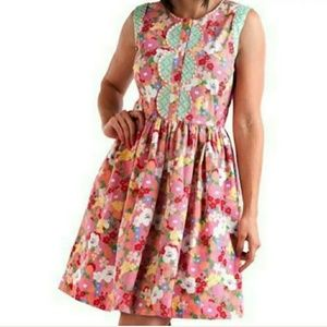 Matilda Jane Med Leah Floral Sleeveless Dress